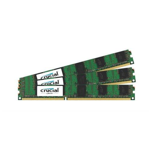 CT1923847 Crucial 6GB Kit (3 X 2GB) PC3-10600 DDR3-1333MHz ECC Registered CL9 240-Pin DIMM Very Low Profile (VLP) Single Rank Memory for HP ProLiant DL585 G7 Server