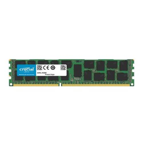 CT3522412 Crucial 16GB PC3-12800 DDR3-1600MHz ECC Registered CL11 240-Pin DIMM Dual Rank Memory Module for HP-Compaq ProLiant DL380 G7 Server