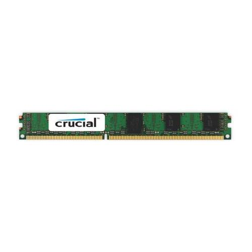 CT3654485 Crucial 24GB Kit (3 X 8GB) PC3-12800 DDR3-1600MHz ECC Registered CL11 240-Pin DIMM 1.35V Low Voltage Very Low Profile (VLP) Dual Rank Server Memory for Supermicro X9DAX-7TF System