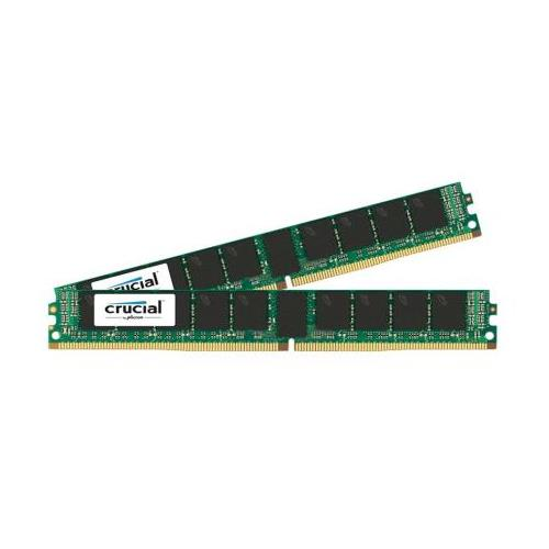 CT6225765 Crucial 32GB Kit (2 X 16GB) PC4-17000 DDR4-2133MHz ECC Registered CL15 288-Pin DIMM 1.2V Very Low Profile (VLP) Dual Rank Server Memory for Supermicro X10DRC-LN4+
