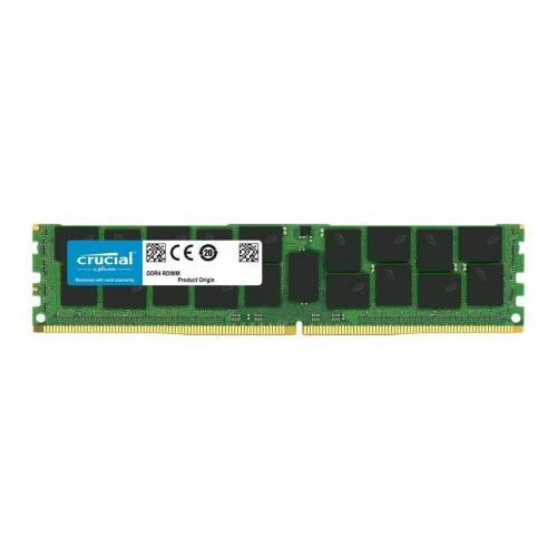 CT6227365 Crucial 16GB PC4-17000 DDR4-2133MHz ECC Registered CL15 288-Pin DIMM 1.2V Dual Rank Server Memory Module for Supermicro X10DRG-H