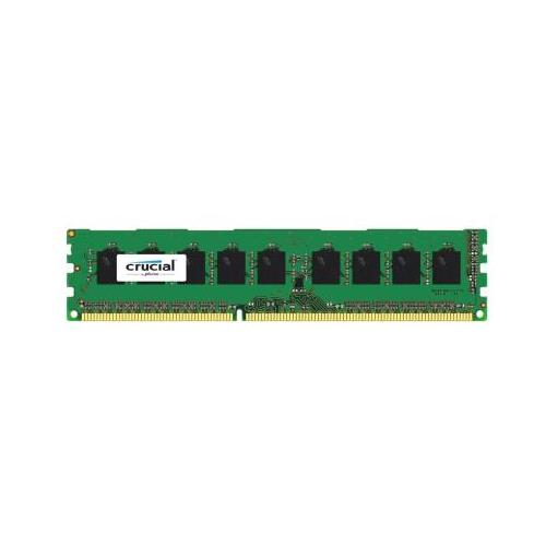 CT6600438 Crucial 4GB PC3-12800 DDR3-1600MHz ECC Unbuffered CL11 240-Pin DIMM Single Rank Memory Module for Supermicro SuperServer 8026B-6RF