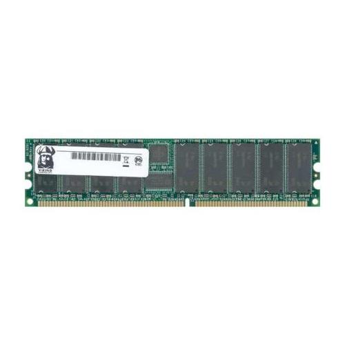 INT12872DDR4 Viking 1GB PC3200 DDR-400MHz ECC Unbuffered CL3 184-Pin DIMM Dual Rank Memory Module