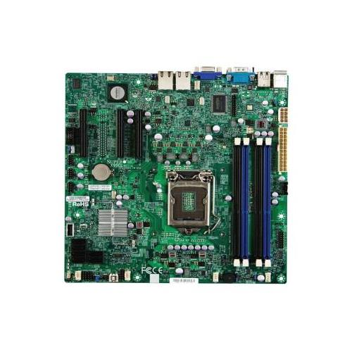 MBD-X9SCL-B SuperMicro Single Socket H2 (LGA 1155) Support Intel Xeon E3-1200 Family Intel 2nd Generation Core I3 & Intel Pentium Family Processor Intel C202 PCH Chipset up to Server Motherboard (Refurbished)