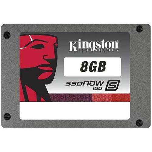 SS100S2/8G Kingston SSDNow S100 Series 8GB MLC SATA 3Gbps 2.5-inch Internal Solid State Drive (SSD)