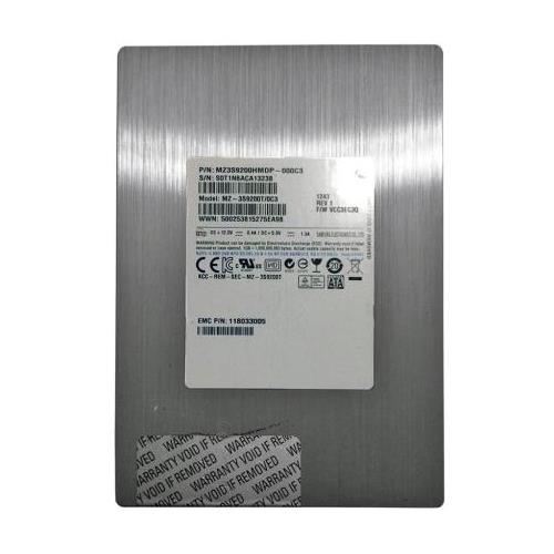 MZ-3S9200T0C3 Samsung 200GB SLC SAS 6Gbps 3.5-inch Internal Solid State Drive (SSD) for VNX Series