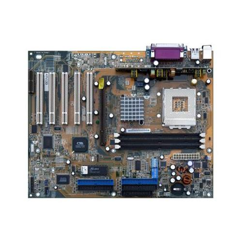 A7V133 ASUS VIA VT8363A Chipset AMD Athlon/ Athlon XP/ Duron Processors Support Socket 462 ATX Motherboard (Refurbished)
