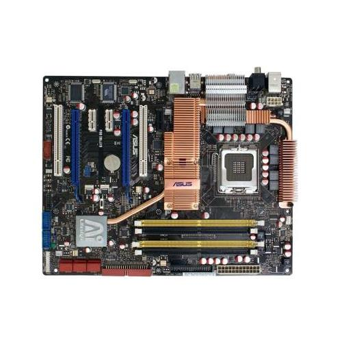 P5EDELUXE ASUS P5E Deluxe Ai Lifestyle Series Intel X48/ ICH9R Chipset Core2 Quad/ Core2 Extreme/ Core2 Duo/ Pentium Extreme/ Pentium D/ Pentium 4 Processors Support Socket LGA775 ATX Motherboard (Refurbished)