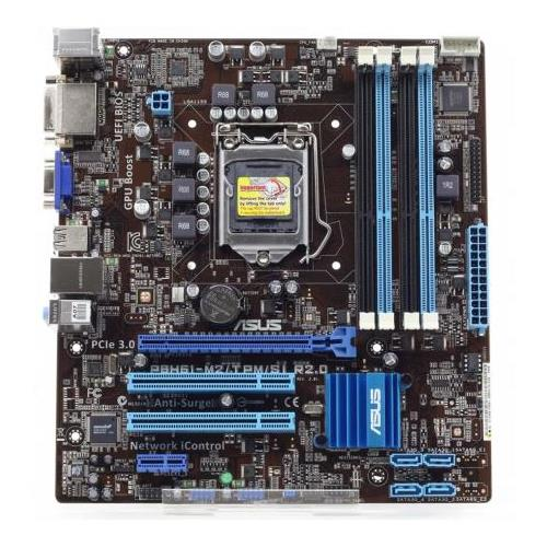 P8H61-M2/TPM/SI R2.0 ASUS H61 Chipset Socket LGA1155 Core i5/i3 Processors Support micro-ATX Motherboard (Refurbished)