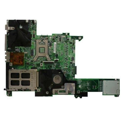 394252-001 HP System Board (MotherBoard) De-Featured (DEF) PCA with ATI Radeon RS480M Integrated Graphics for Pavilion ZE2000 / Presario V2000 Series Notebook PC (Refurbished)