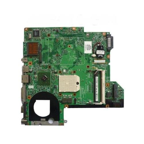 431844-001 HP System Board (MotherBoard) De-Featured with AMD CPU for Pavilion dv2000 and Presario V3000 Series Notebook PC (Refurbished)