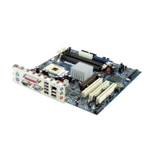 19R2564 IBM System Board without Processor or Memory (GV) with 10/100 Ethernet AGP Disabled without POV2 (supports Prescott CPU) for ThinkCentre A50p (type 8193) (Refurbished)