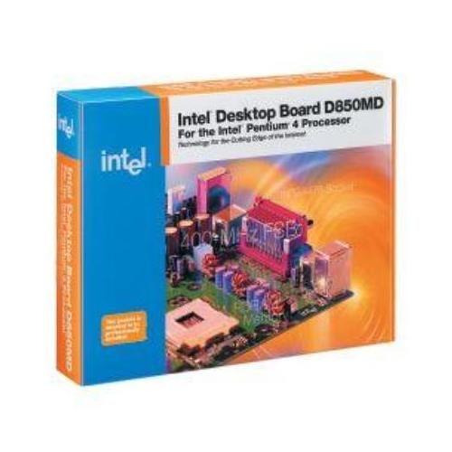 BOXD850MD Intel Desktop Motherboard 850 Chipset Socket PGA-478 micro ATX 1 x Processor Support (Refurbished)