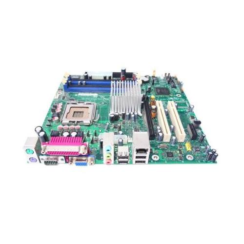 C67700-204 Intel Desktop Motherboard Socket LGA775 800MHz FSB DDR2 micro ATX (Refurbished)