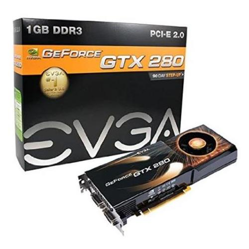 01G-P3-1280-R1 EVGA nVidia GeForce GTX 280 1GB 512-Bit GDDR3 PCI Express 2.0 Video Graphics Card