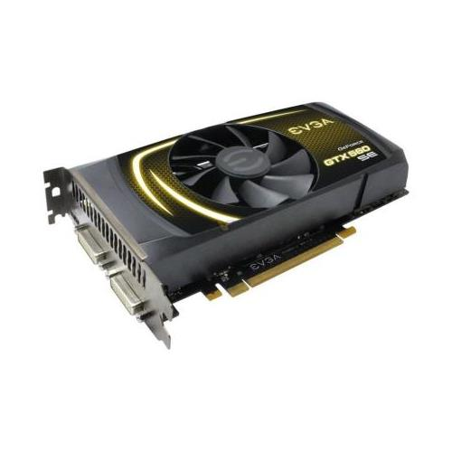 01G-P3-1464-A1 EVGA GeForce GTX 560 SE 1GB 192-bit GDDR5 PCI Express 2.0 x16 HDCP Ready SLI Support Mini-HDMI/ Dual DVI Video Graphics Card