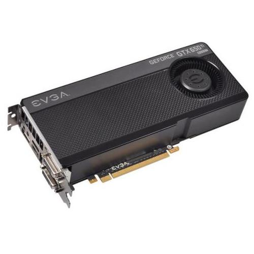 01G-P4-3655-KR EVGA GeForce GTX 650 Ti BOOST 1GB 192-Bit GDDR5 PCI Express 3.0 x16 Dual DVI/ Mini-HDMI/ DisplayPort Video Graphics Card