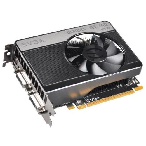 02G-P4-3744-KR EVGA GeForce GT 740 FTW 2GB GDDR5 PCI Express 3.0 x16 DVI/ HDMI Video Graphics Card