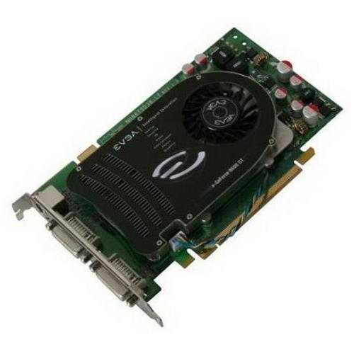 512-P2-N757-A2 EVGA GeForce 8600 GT 512MB 128-Bit GDDR3 PCI Express x16 Dual DVI/ HDTV/ S-Video Out/ HDCP Ready/ SLI Support Video Graphics Card