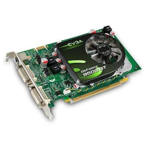 512P3N954TX EVGA GeForce 9500 GT 512MB DDR2 128-bit HDCP Ready SLI Support PCI Express 2.0 x16 Video Graphics Card