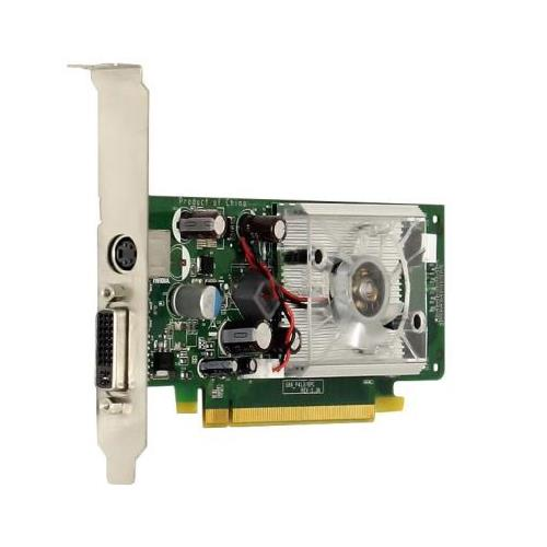 445681-001 HP Nvidia GeForce 8400GS PCI-Express x16 256MB 400MHz DVI / TV Out Video Graphics Card