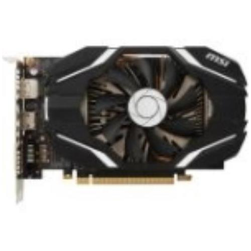 G1080GX8 MSI GeForce GTX 1080 Graphic Card 1.71 GHz Core 1.85 GHz Boost Clock 8GB GDDR5X 256 bit Bus Width Fan Cooler DirectX 12, OpenGL 4.5 3 x DisplayPort 1 x HDMI 1 x Total Number of DVI (1 x DVI-D) Dual Link DVI Supported 4 x Monitors Supported