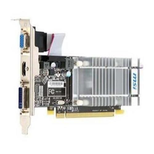 R5450MD512H MSI Radeon HD 5450 512MB DDR3 PCI Express 2.1 Video Graphics Card