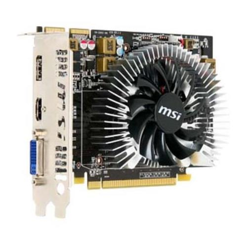 R5670PMD1G MSI Radeon HD5670 1GB DDR5 DVI/HDMI/DisplayPort PCI-Express Video Graphics Card