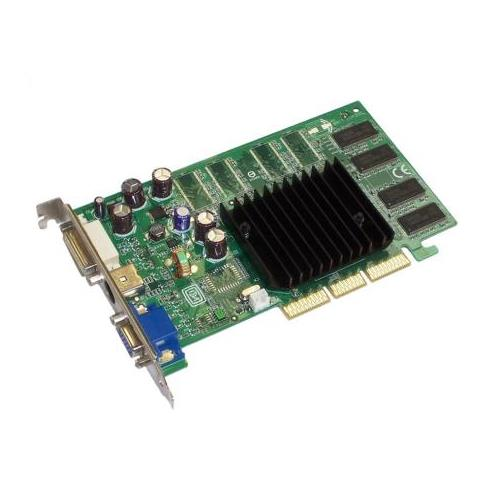 8911-280 Nvidia GeForce FX5200-TD 128MB Agp with Vga Dvi and S-Video Video Graphics Card